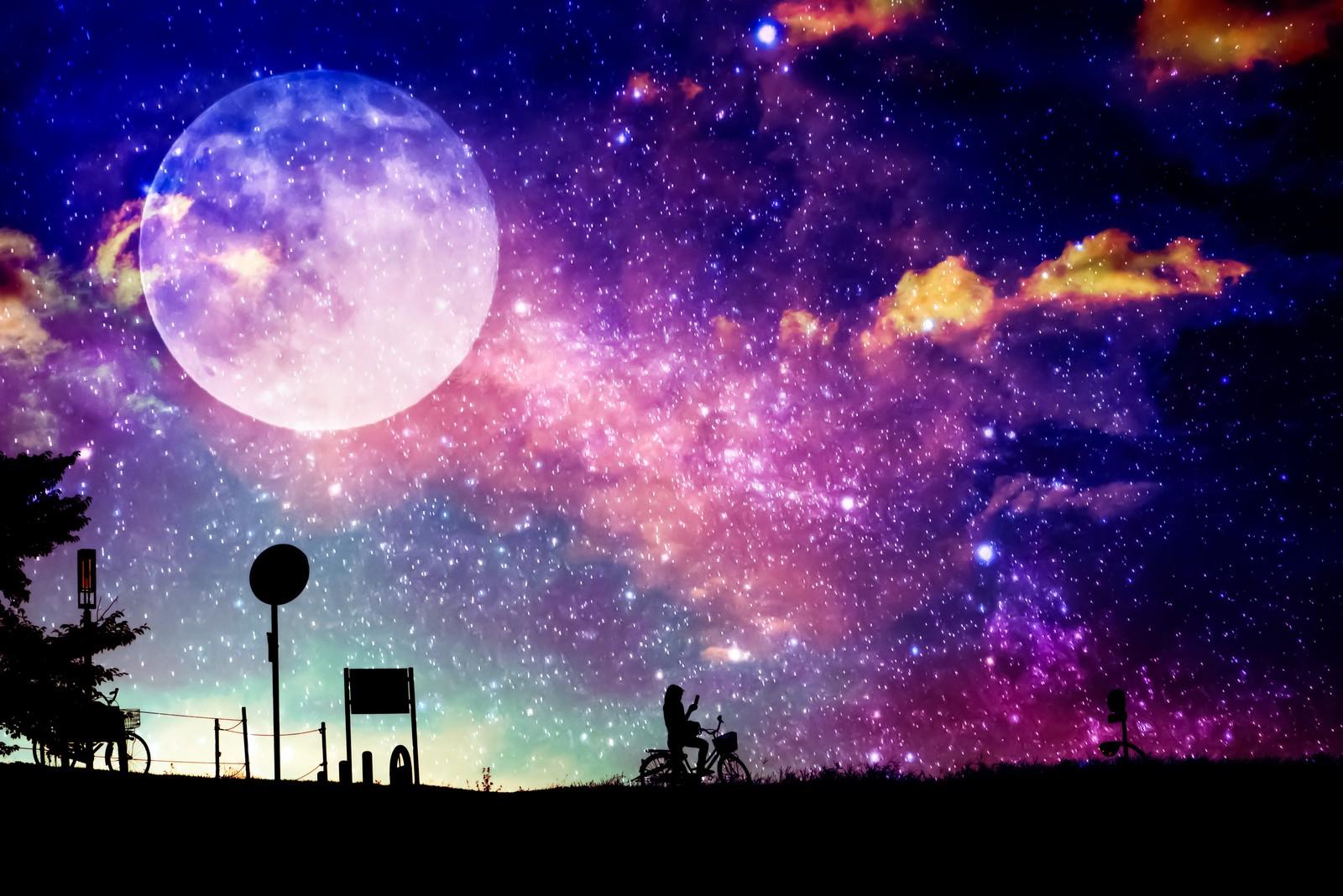 今夜はストロベリームーン♪満月を見て、幸せをゲットしよう^^